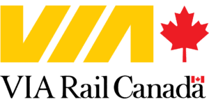 Via Rail logo.